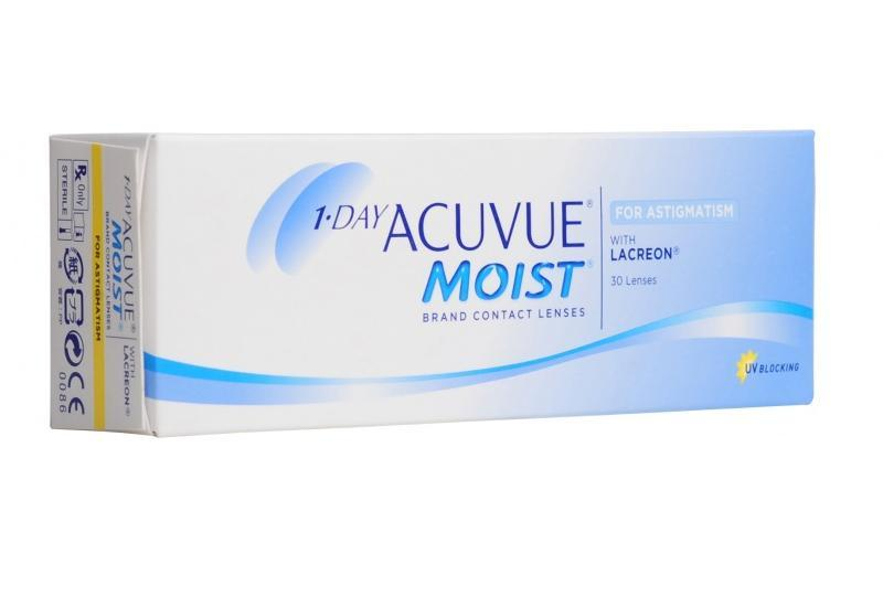 Контактные линзы Acuvue One Day Moist for Astigmatism