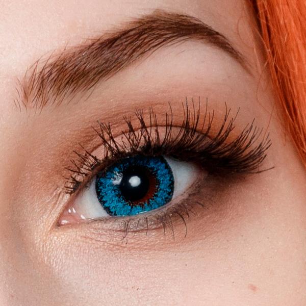 Васильковый цвет глаз фото